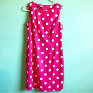 ALYX Pink polkadot sheath dress sleeveless 10 EUC